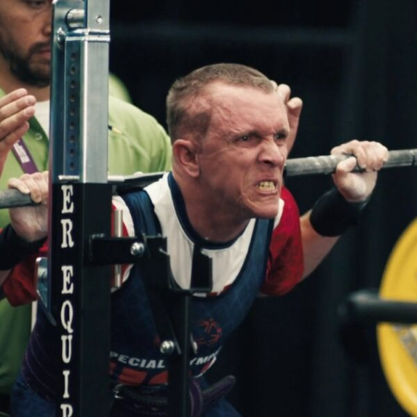Bank of America Salutes the World's Most Inspiring Powerlifter