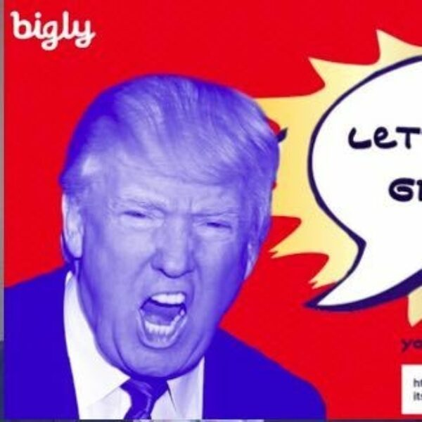 "URLs Get the ""bigly"" Trump Treatment from Hill Holliday Creatives"
